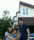 川島邸家族